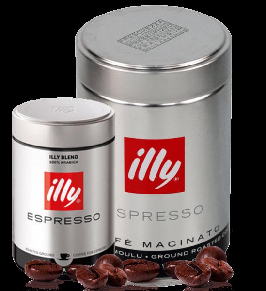Illy Röstung S - Kaffee Espresso, 250g gemahlen