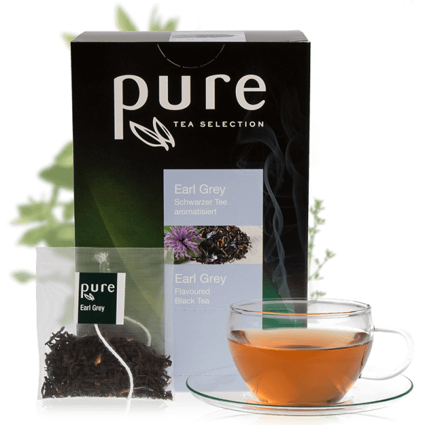 Tchibo Pure Tea Selection Blumig Frischer Earl Grey 25 Beutel