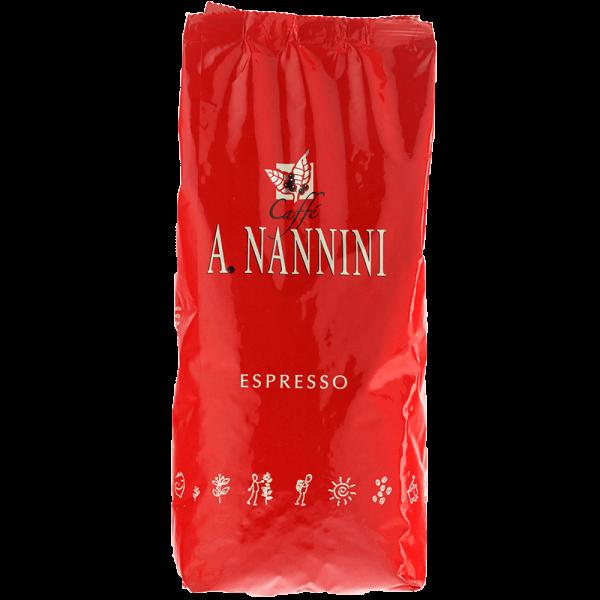 Nannini Etnea - Kaffee Espresso, 1 kg ganze Bohnen