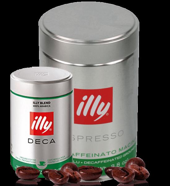 Illy koffeinfrei - Kaffee Espresso, 250g gemahlen
