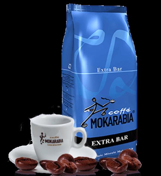 Mokarabia Extra Bar Kaffee Espresso 1kg Bohnen