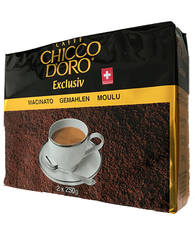 Chicco d'Oro Exclusiv 2 x 250g gemahlen