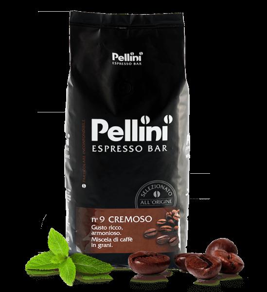 Pellini Cremoso Kaffee Espresso 1kg Bohnen