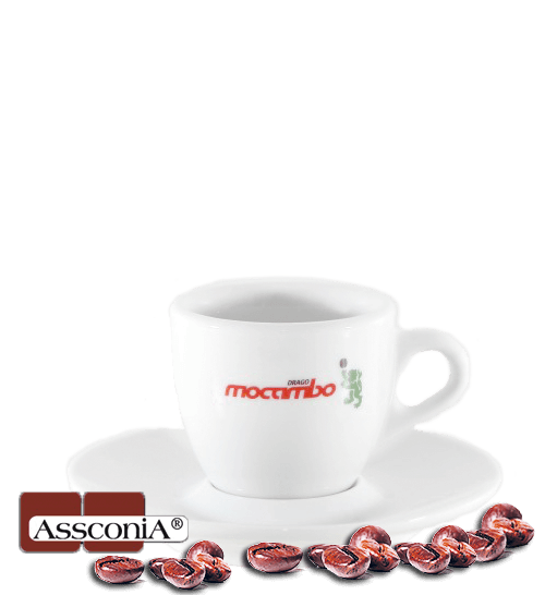 Mocambo Espresso Tasse - im Set mit 6 Stk