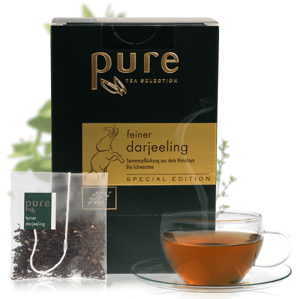 Pure Tea Special Edition Bio feiner darjeeling 1 Box
