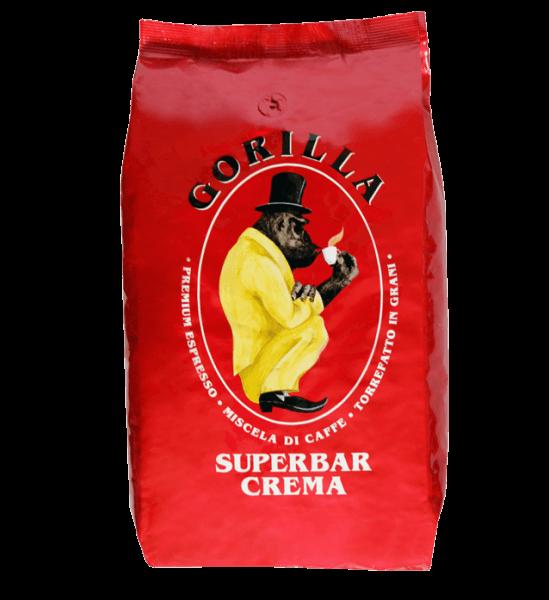 Gorilla Super Bar Crema 1kg Bohnen