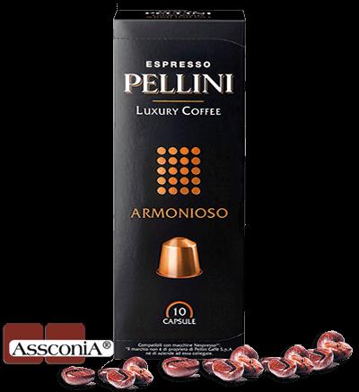 Pellini ARMONIOSO - Pellini Kapsel Nespresso® kompatibel - 10 Kapseln