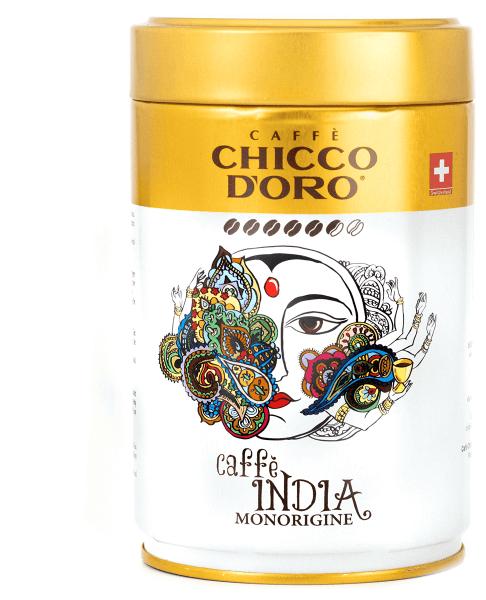 Chicco d'Oro India Dose 250g, ganze Bohnen