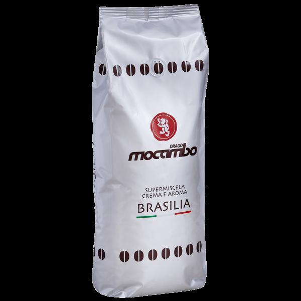 Mocambo Brasilia - Kaffee Espresso, 1 kg ganze Bohnen
