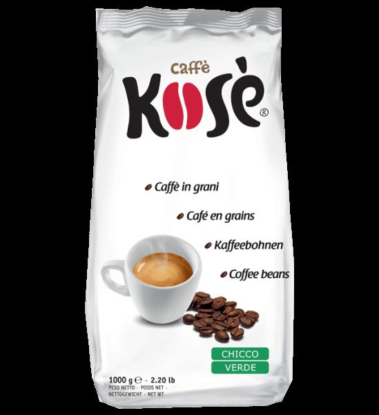 Kose Chicco Verde Kimbo, 1kg Espresso Bohnen