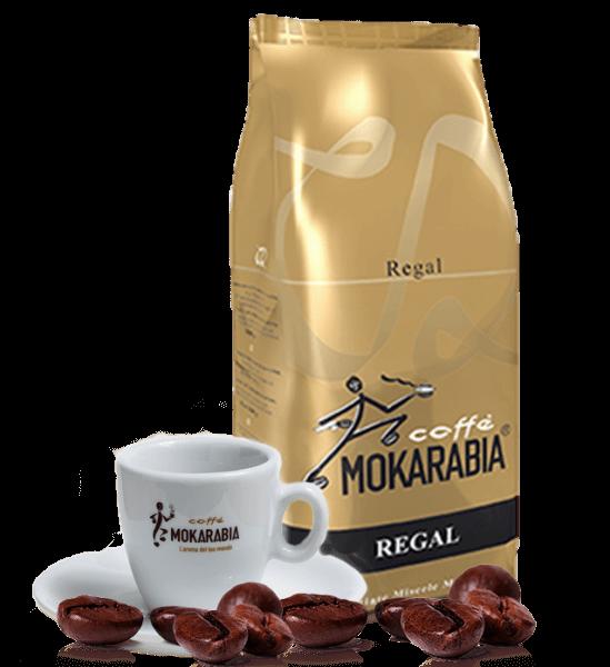 Mokarabia Regal Kaffee Espresso 1kg Bohnen
