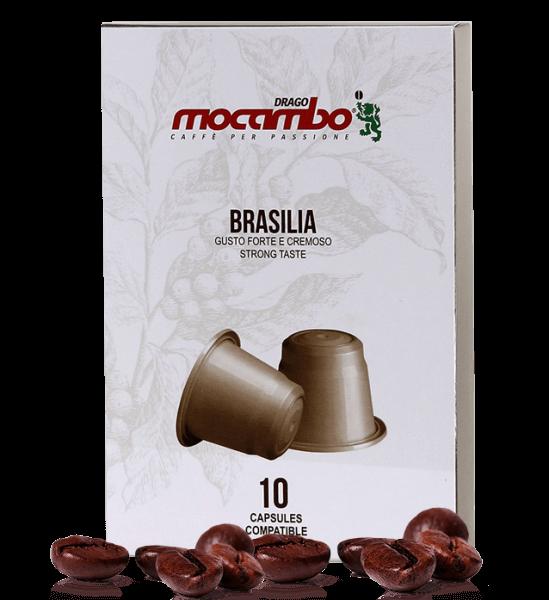 Mocambo Brasilia - Kapseln Nespresso® kompatibel - 10 Stück