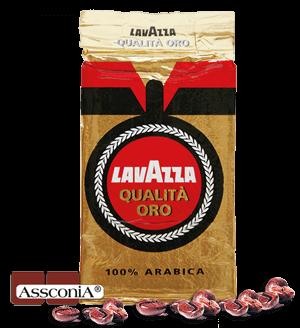 Lavazza Qualita Oro - Kaffee Espresso, 3x 250g gemahlen