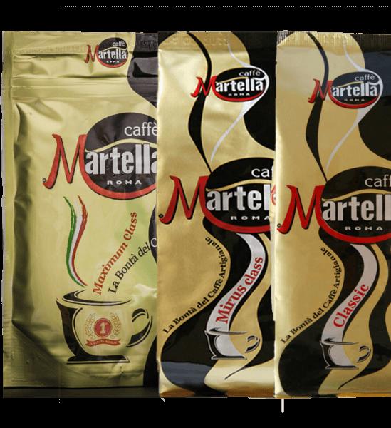 Martella Caffe Probierpaket 3 x 250 Gramm Bohnen