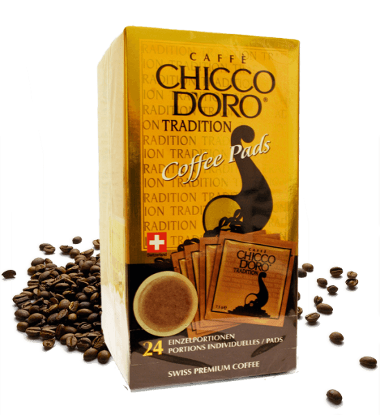 Chicco d'Oro Tradition Coffee Pads - 24 Pads