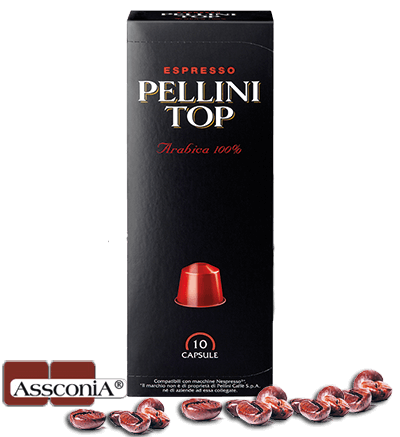 Pellini TOP - Pellini Kapsel Nespresso® kompatibel - 10 Kapseln