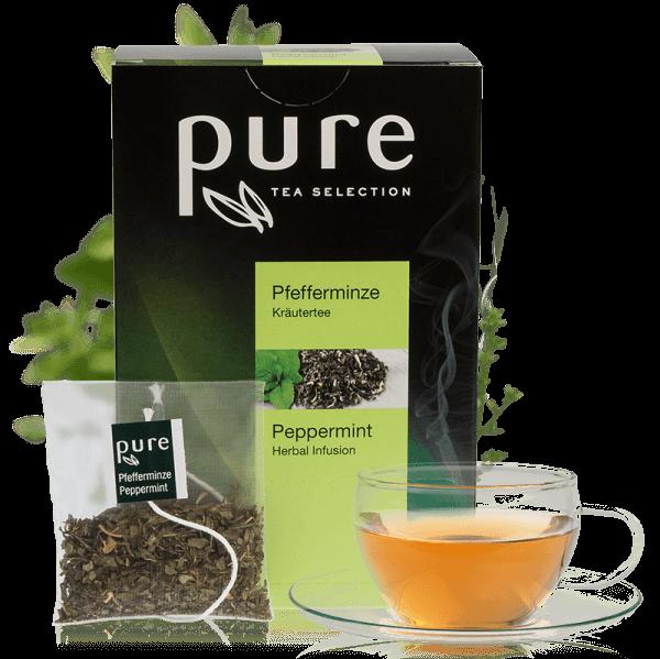 Tchibo Pure Tea Selection Erfrischende Pfefferminze 25 Beutel