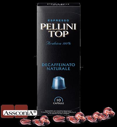 Pellini Top Decaffeinato - Pellini Kapsel Nespresso® kompatibel - 10 Kapseln