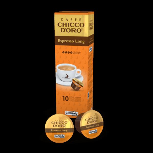Chicco d'Oro Espresso Long, 10 Kapseln