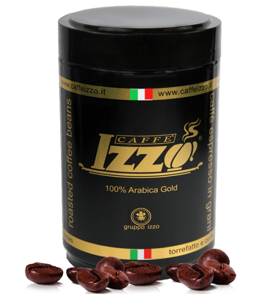 Izzo Gold 100% Arabica Caffe Espresso 250g gemahlen Dose