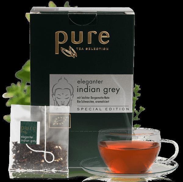 Pure Tea Special Edition Bio eleganter indian grey 1 Box