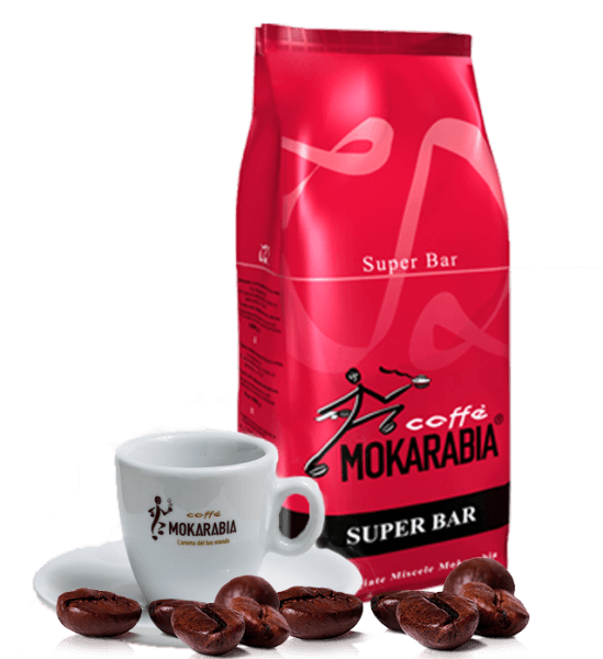 Mokarabia Super Bar Kaffee Espresso 1kg Bohnen
